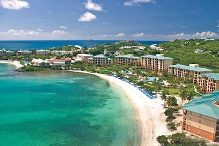 NEW YEAR-ST. THOMAS  Ritz Carlton Luxury 2BR/2.5BA - Cruz Bay - Appartement
