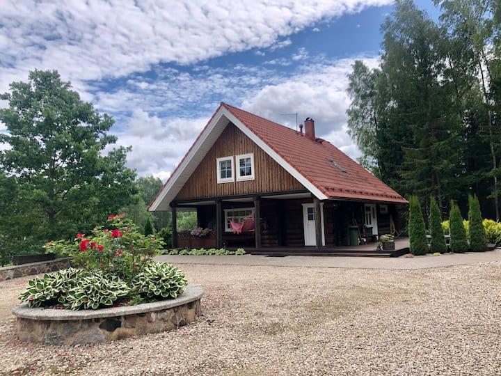 OTEPÄÄ Unique cottage for rent (WRC Estonia 2020)