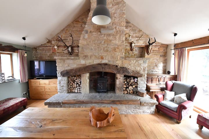 An amazing barn conversion in rural location.