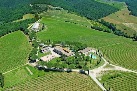 Pretty 3 rooms apartment in Chiantishire - Pratale - Tavarnelle Val di Pesa - Flat