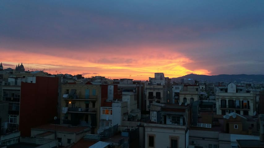Killer Sunsets from the Balcony