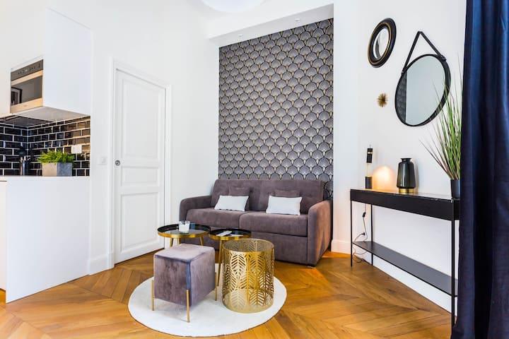 Superbe studio lumineux - Trocadero/La Muette