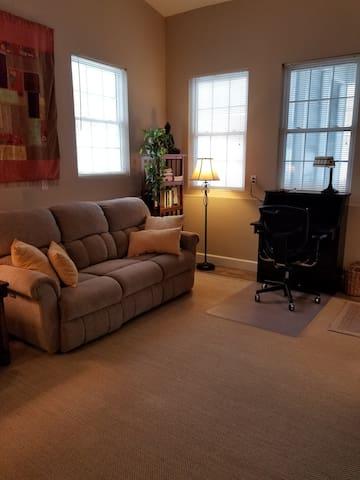 Living room, work desk
