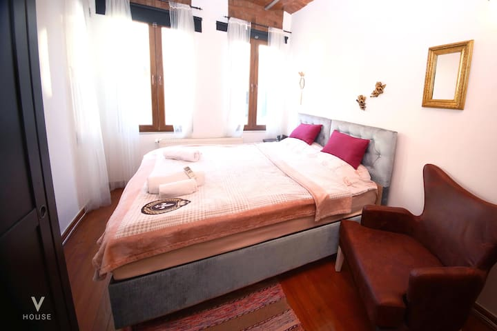 large bedroom, whether double or single beds are available
