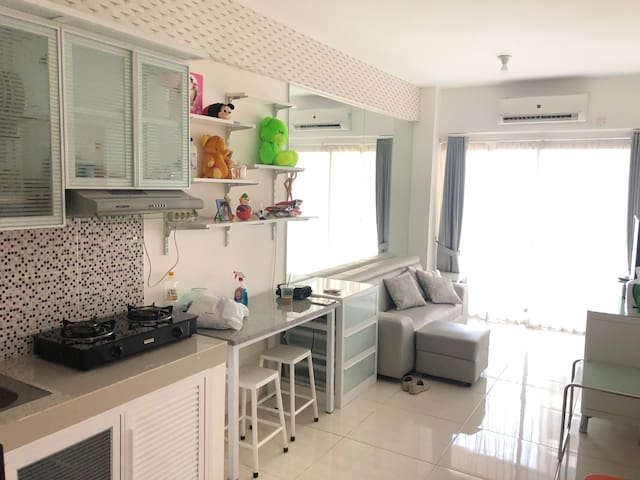 CozynClean 2 Bedrooms Apartment in West Surabaya