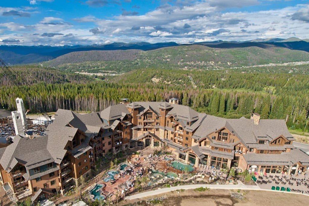 Ski in out spectacular condomini in affitto a for Affitto cabina breckenridge co