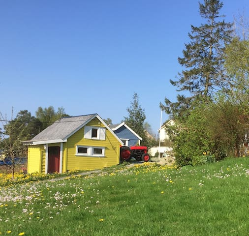 KreaTun-Cabins close to the sea - Stord