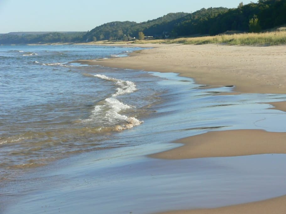See why everyone loves the beach in Pentwater...