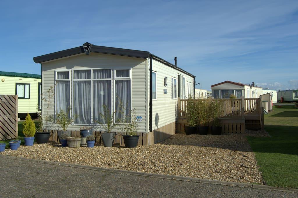 Creative  Caravan Holiday Hire At North Denes The Ravine Lowestoft Suffolk
