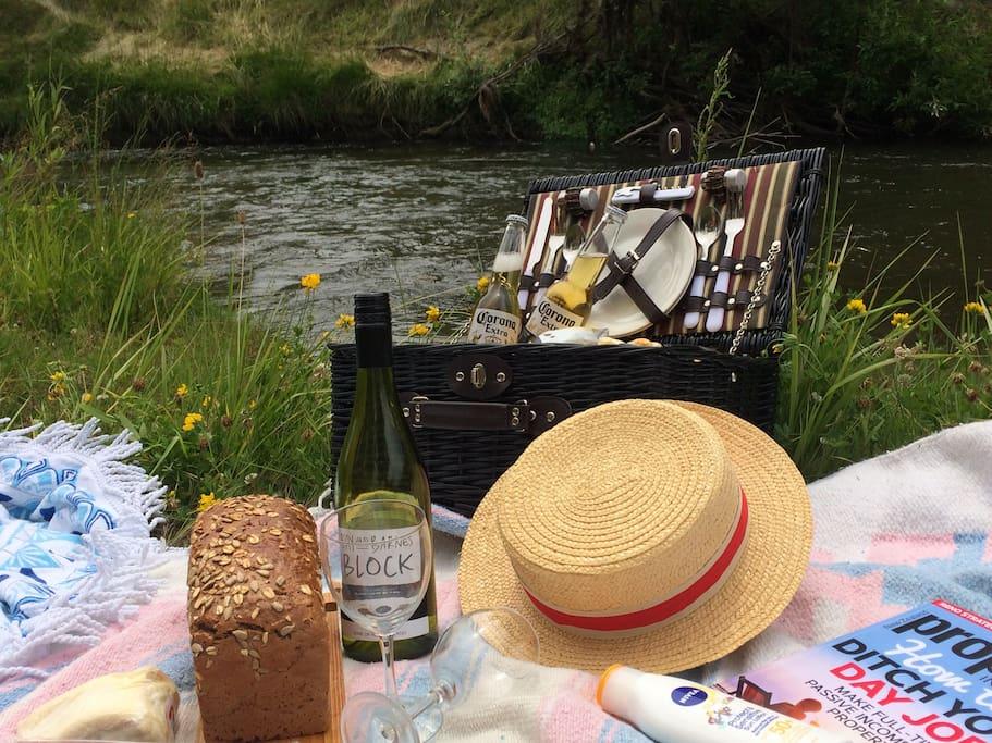 Fabulous setting for a picnic