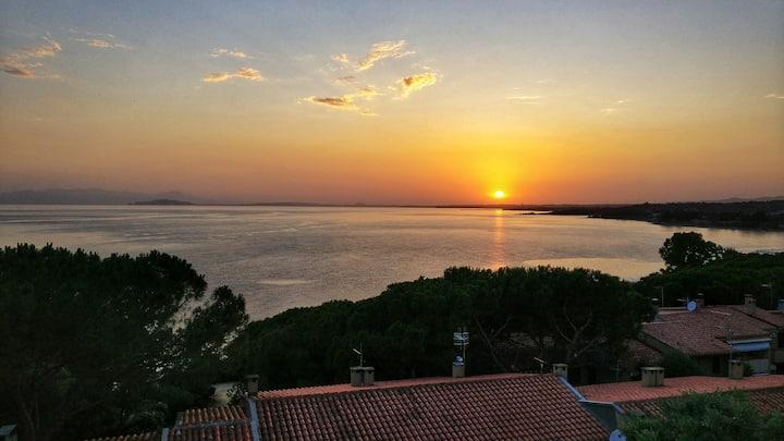 Villetta con splendida vista sul golfo di Cagliari