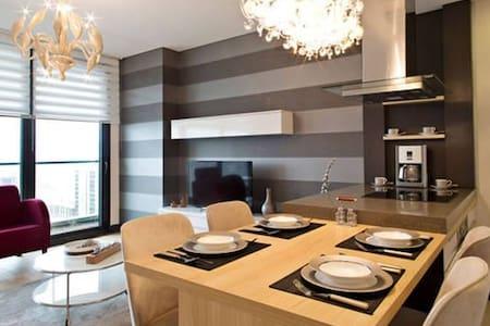 Platform Merter 1+1 Corner Suites - Apartamento