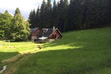 Gemütliches, rustikales Ferienhaus im Erzgebirge