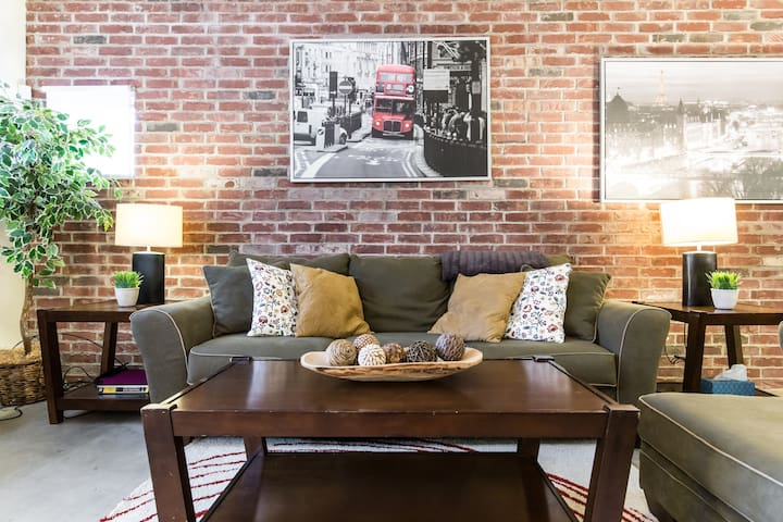 Comfy Downtown Business Class Loft - Dallas - Casa