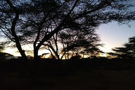 Charming Kudu Camp, Natural hot spa and camp site