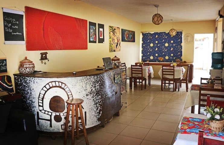 Oca Hostel Tapiocaria e Creperia