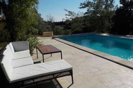 Joli Mas de Provence avec piscine - Vacqueyras