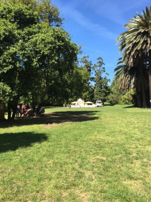 enjoy some relax in the park - 300 mt away from the flat