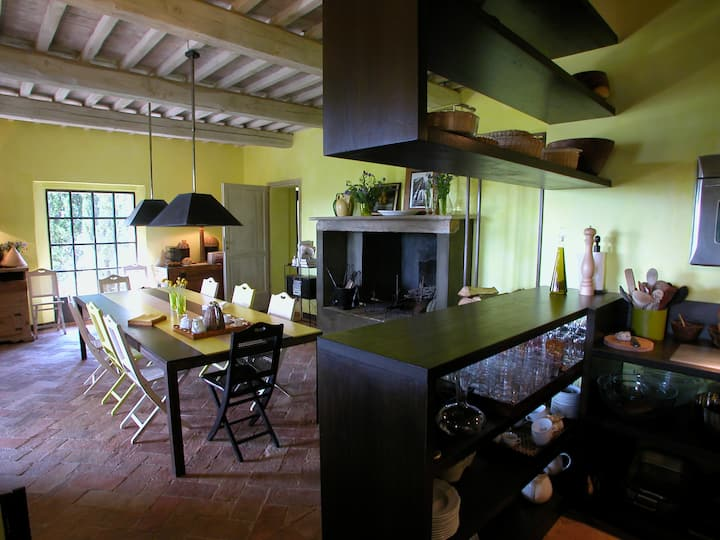Fantastic Villa with stunning view of Val d'Orcia