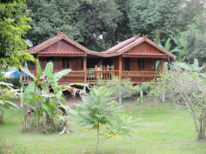 Buhom Mekong Riverside Resort Villa 2 beds 2 baths