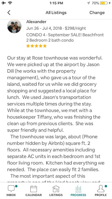 Reviews from our guest :)