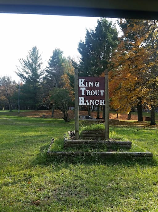 The property was formerly a Resort and Fish hatchery named the King Trout Ranch