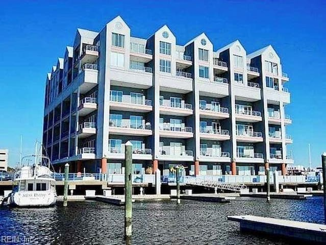 Waterfront Condo in Downtown Norfolk
