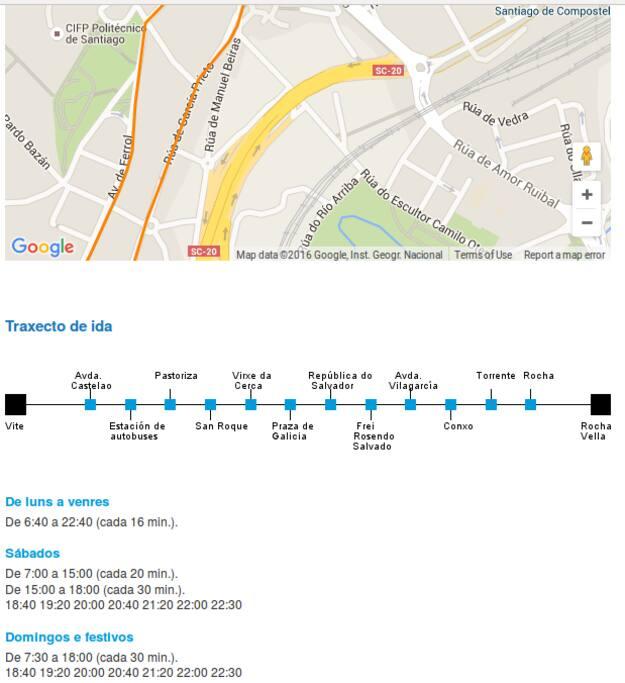 Línea 5 de bus (http://tussa.org/web/linas.php?id=33&lg=es)