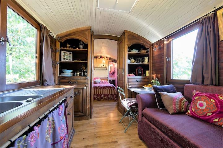 TINY HOUSE : Roulotte authentique