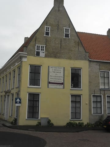 Sfeervol B&B in centrum -eigen entree. Oker B&B. - Harlingen - Flat