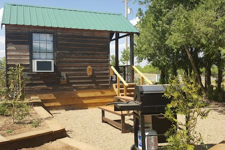 The Roadrunner Tiny Cabin at Palo Duro Canyon