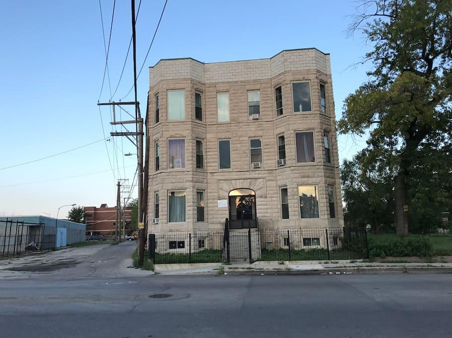 Building Exterior (View A)