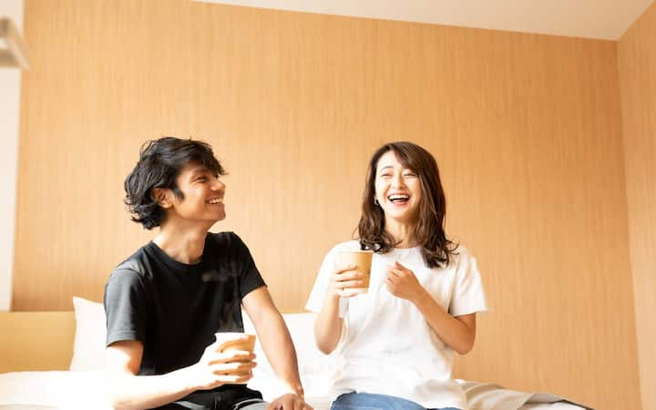 101〔Dot Hostel &Bar Cozy big family room with bar