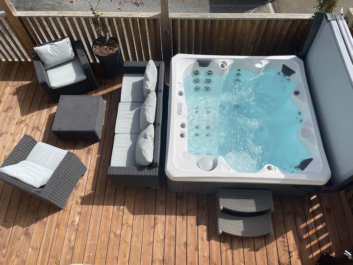 Maison Cosy 135 m² + Spa, 5min de Rennes
