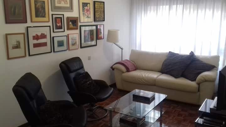 Apartamento funcional para 2/3 personas