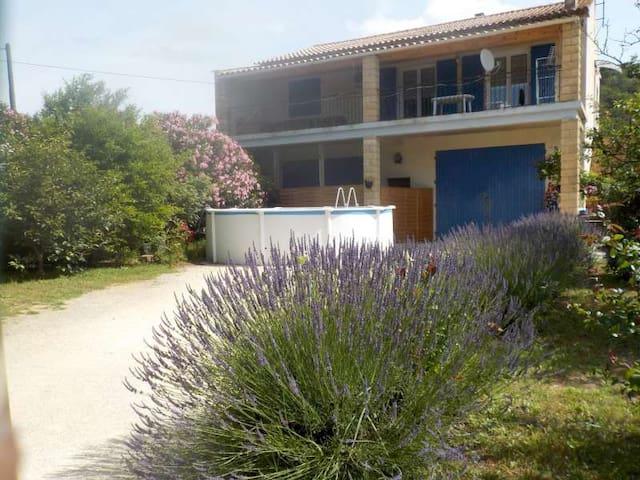 GITE CORNILLON private pool and enclosed garden