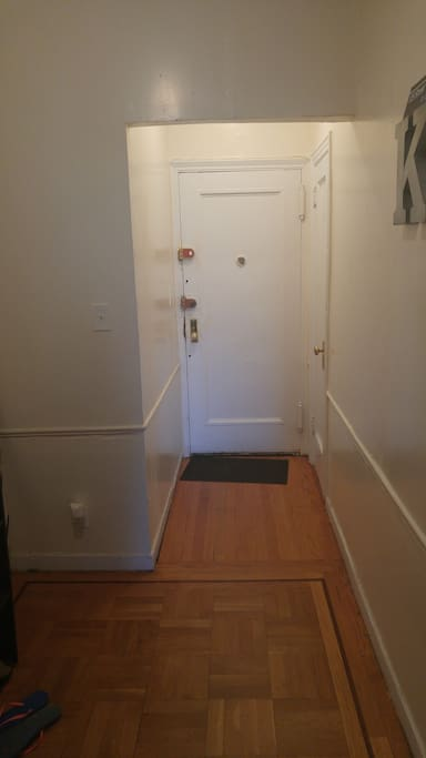 Entry Way to Apt
