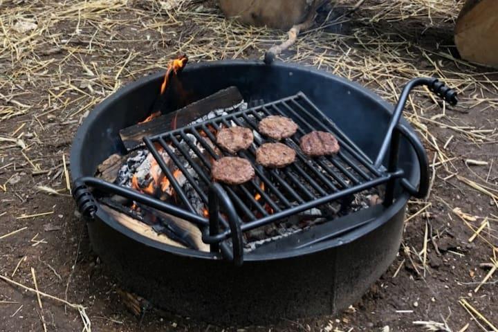 Unique Camper Cabin in Burnett County Forest