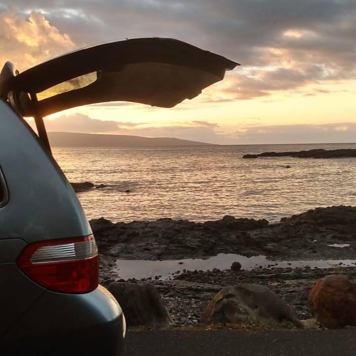 Maui van camping- epic camping at your destination