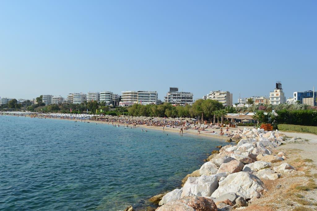 Alimos beach