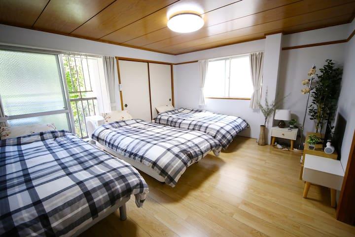 5 min walk from Tenjin ★ - Fukuoka - Lägenhet