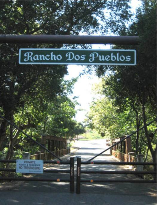 Entrance to the Royal Rancho!