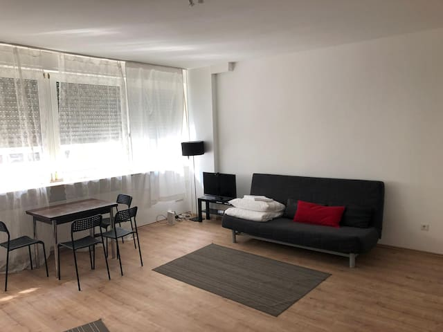 2-ROOM flat NEXT TO CENTER/MESSE/TRAIN STATION