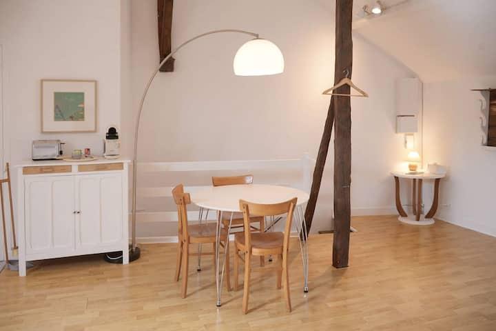 Spacieux et lumineux studio au cœur Moret