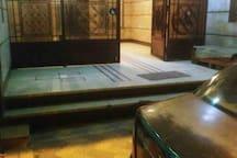 The entrance of my building,  5- Ibrahim Rady st. Bolkly