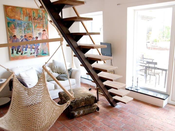 Havsnära, vackert boende Vik: lägenhet Elisabeth