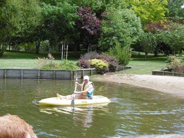 Use of sit-on kayaks