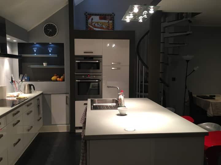 Modern apartment in Arlon center