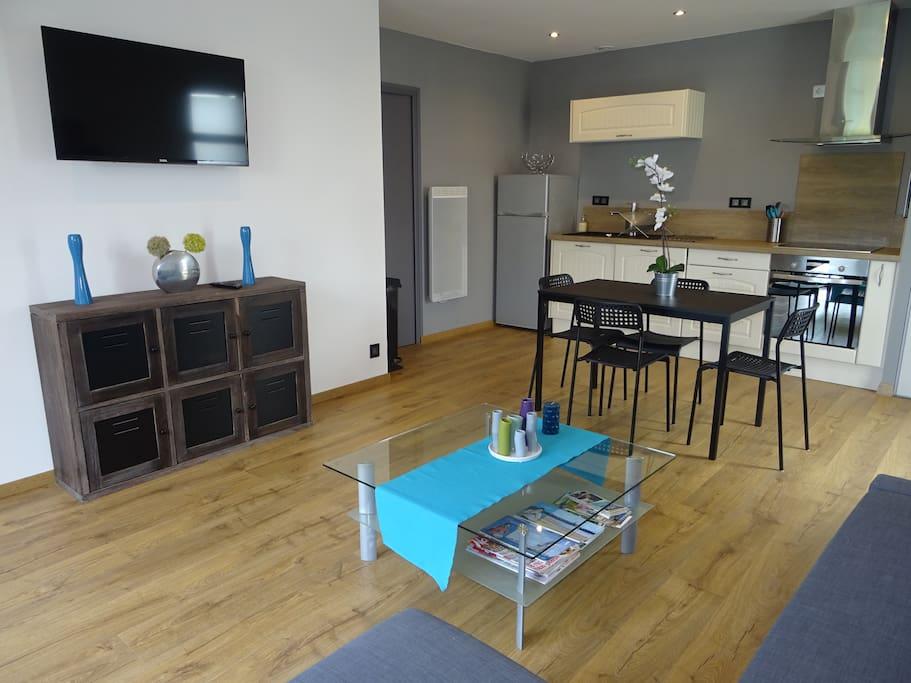 espace cuisine/séjour