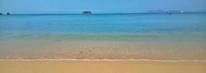 双月湾海景整栋五房民宿沙滩风情屋